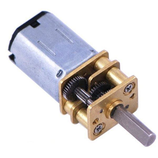 10:1 Micro Metal Gearmotor Lp 6V - Motors