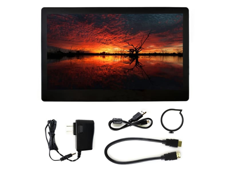 11.6 inch HDMI LCD (with case) 1920*1080 IPS Capacitive touch Supports Raspberry Pi 4 - LCD Displays