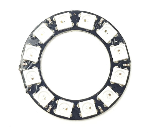12 Led Ring - Sk6812 5050 Rgb Led With Integrated Drivers (Adafruit Neopixel Compatible) - Leds