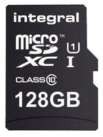 128 GB Micro SD Card Memory - Class 10 with Adapter - Component