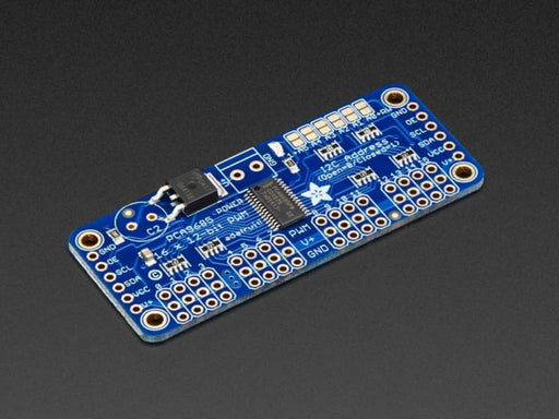 16-Channel 12-Bit Pwm/servo Driver - I2C Interface - Pca9685 (Id: 815) - Motion Controllers
