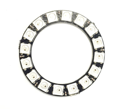 16 Led Ring - Sk6812 5050 Rgb Led With Integrated Drivers (Adafruit Neopixel Compatible) - Leds