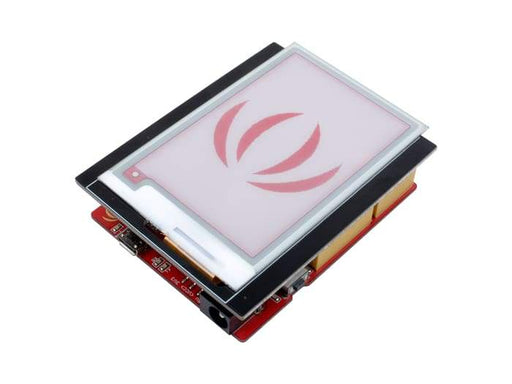 2.7 Triple-Colour E-Ink Shield for Arduino - Arduino Display