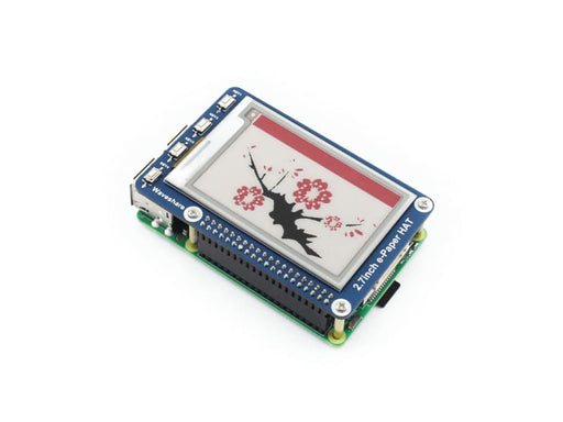2.7Inch E-Ink Display Hat For Raspberry Pi & Arduino Red/black/white 3 Colours - Oled Displays