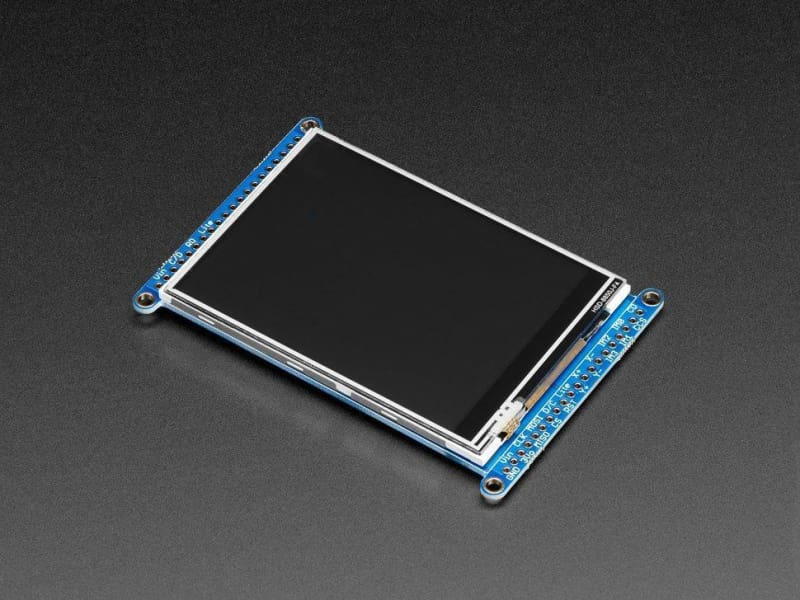 3.2 Tft Lcd With Touchscreen Breakout Board W/microsd Socket (Ili9341) (Id: 1743) - Lcd Displays