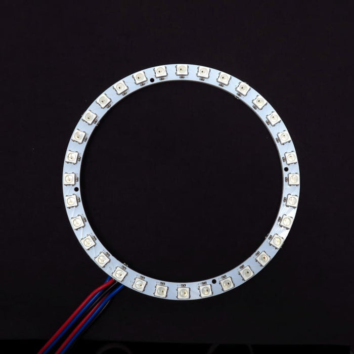 32 LED 112mm Ring - WS2812B 5050 RGB LED with Integrated Drivers (Adafruit  Neopixel compatible)