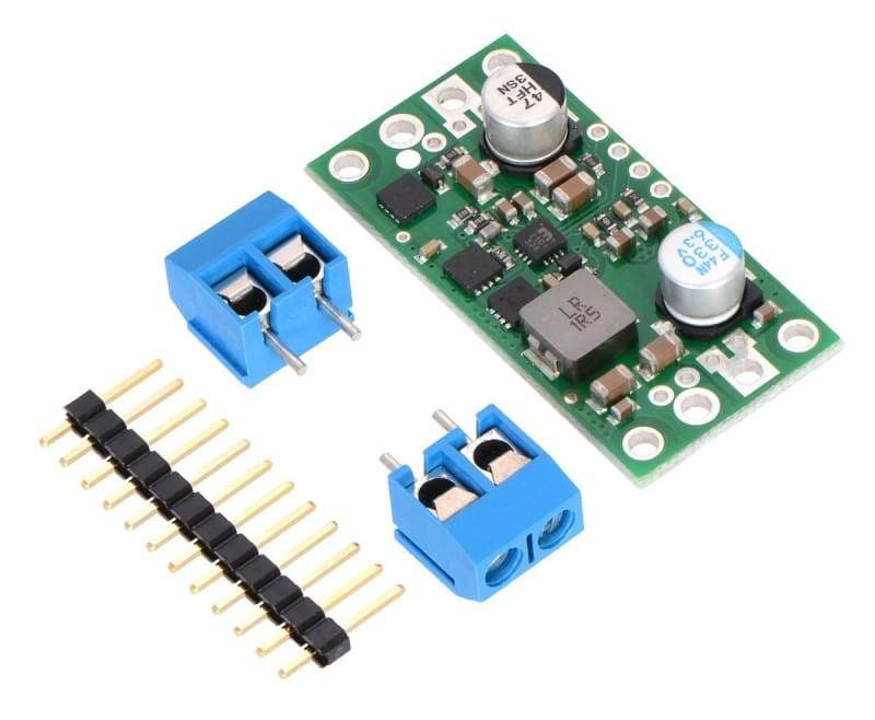5V 9A Step-Down Voltage Regulator D24V90F5 - Active Components