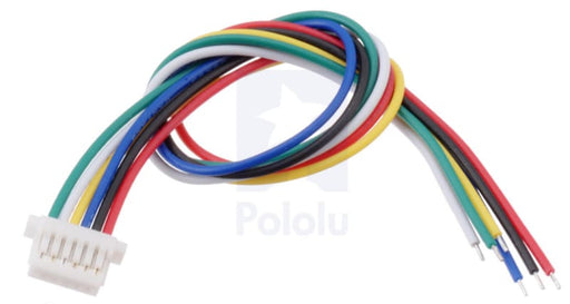 6-Pin Female JST SH-Style Cable - Cables and Adapters