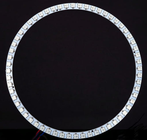 60 LED 172mm Ring - WS2812B 5050 RGB LED with Integrated Drivers (Adafruit Neopixel compatible) - LEDs