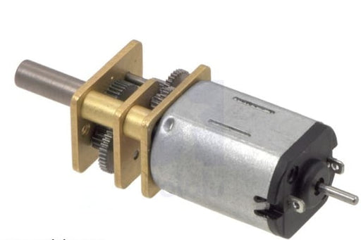 75:1 Micro Metal Gearmotor HP 6V with Extended Motor Shaft - Motors