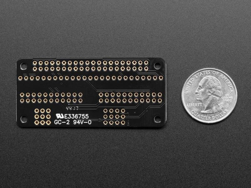 Adafruit Animated Eyes Bonnet For Raspberry Pi Mini Kit - Without Displays (Id: 3356) - Raspberry Pi Kits