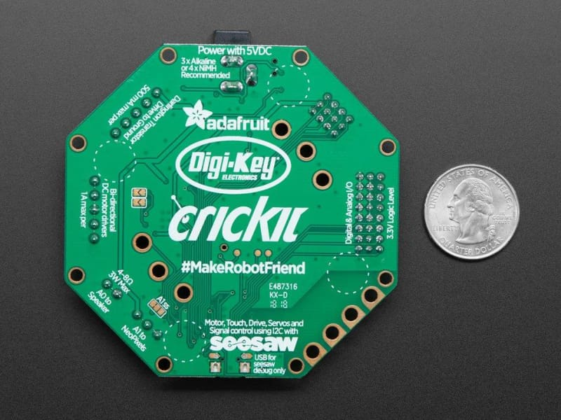 Adafruit Crickit For Circuit Playground Express (Id: 3093) - Accessories And Breakout Boards