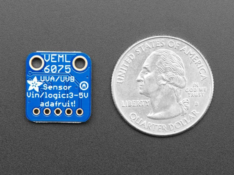 Adafruit Veml6075 Uva Uvb And Uv Index Sensor Breakout (Id: 3964) - Visible Light