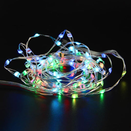Addressable RGB LED Light String - 50 LEDs - 5 Meters (Adafruit NeoPixel compatible) - Component