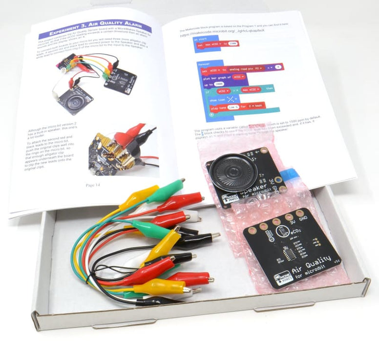 Air Quality Kit for BBC micro:bit - Component
