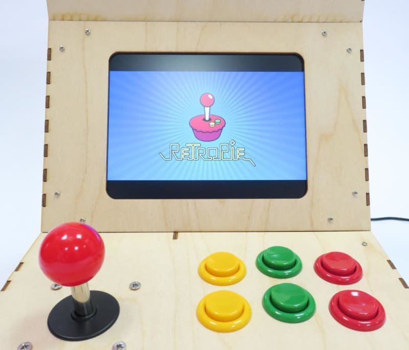 Arcade Machine Kit For The Raspberry Pi With Configured Retropie Os - Raspberry Pi Kits