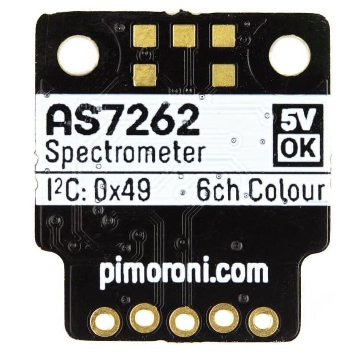 AS7262 6-channel Spectral Sensor (Spectrometer) Breakout - Sensor