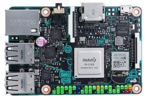 Asus Tinker Board And 16Gb Sd Card With Debian Os - Raspberry Pi Boards