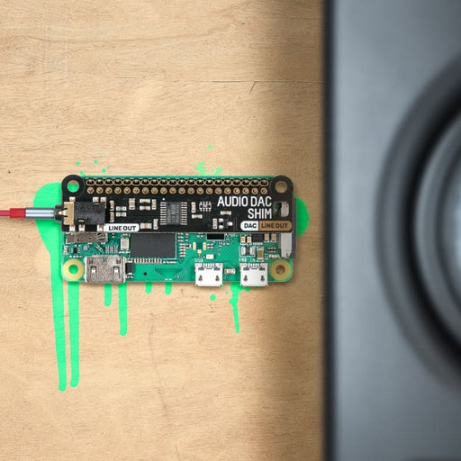 Audio DAC SHIM (Line-Out) - Component