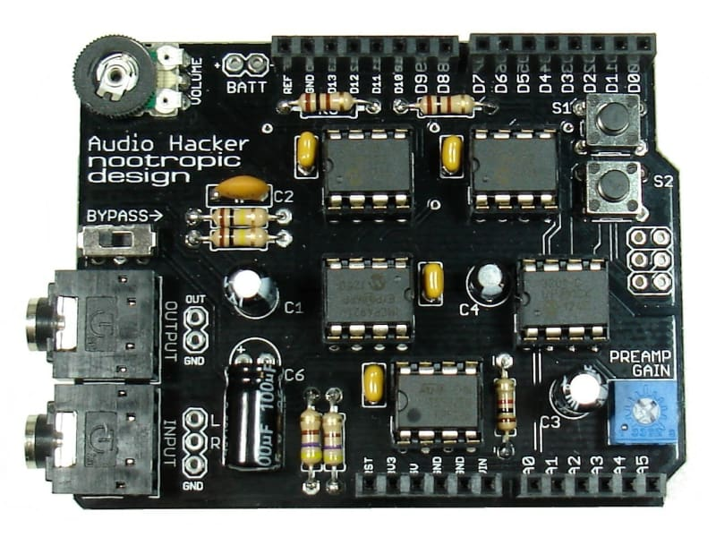 Audio Hacker Shield - Kit - Audio