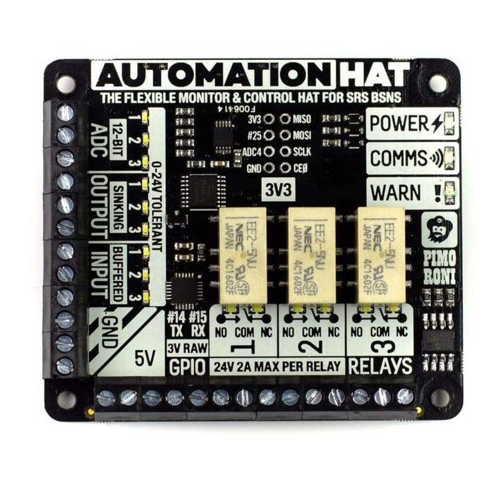 Automation Hat - Raspberry Pi