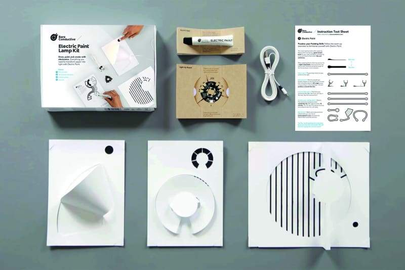 Bare Conductive Electric Paint Lamp Kit - Kits