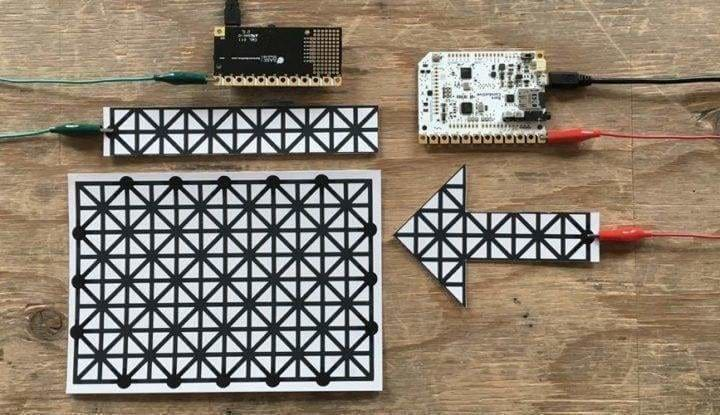 Bare Conductive Printed Sensors - 3 X A5 - Touch