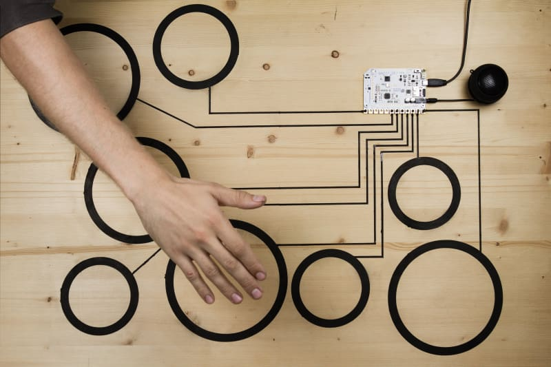 Bare Conductive Touch Board - Derivative Boards