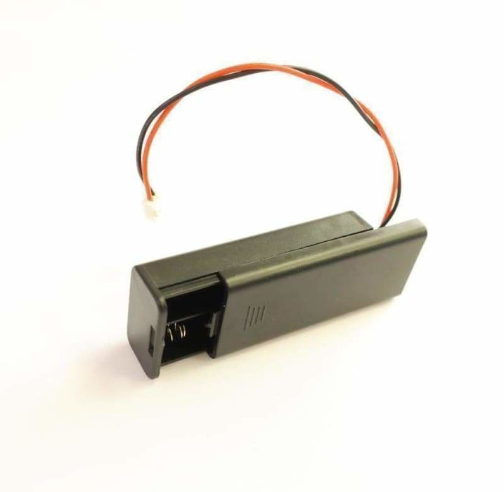 Battery Holder With Switch Lid + Jst Connector For Bbc Micro:bit - Accessories