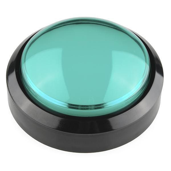 Big Dome Push Button - Green - Switches