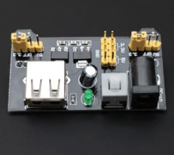 Breadboard Power Supply Module Compatible With 5V And 3.3V - Power