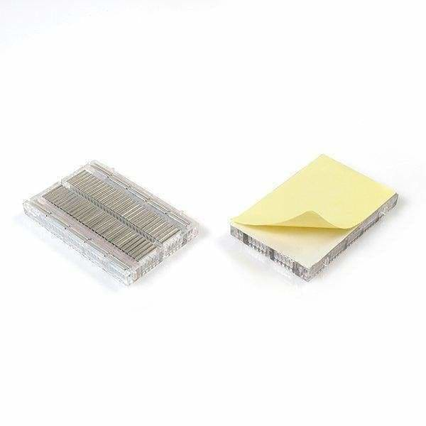 Breadboard - Translucent Self-Adhesive (Clear) - Breadboards