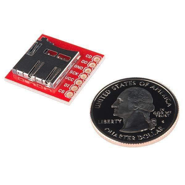 Breakout Board For Microsd Transflash - Breakout Boards