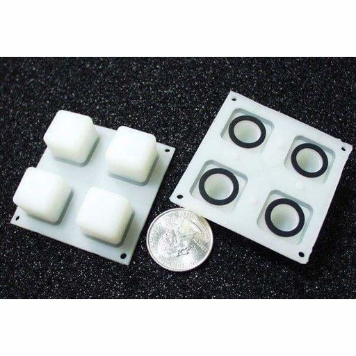 Button Pad 2X2 - Led Compatible (Com-07836) - Buttons