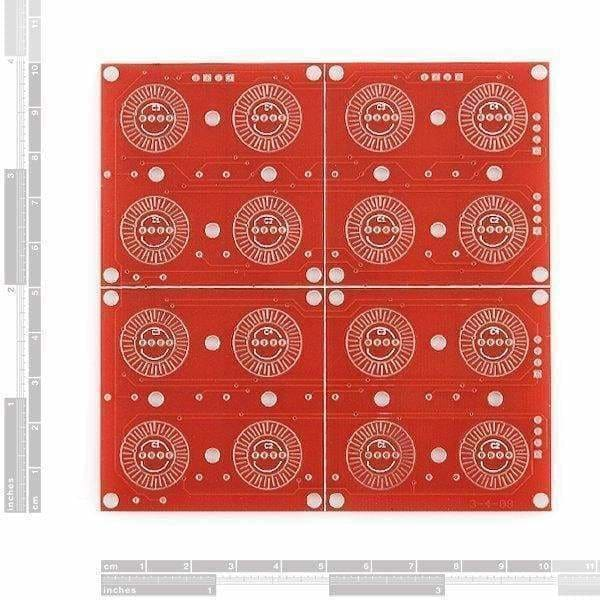 Button Pad 4X4 - Breakout Pcb (Com-08033) - Buttons