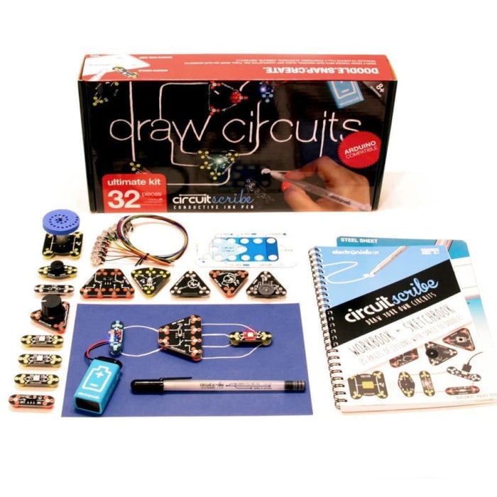 Circuit Scribe Ultimate Kit - Conductive Ink