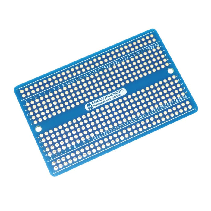 Cool Components Protoboard - 1/2 Size (Pack of 3) - Component
