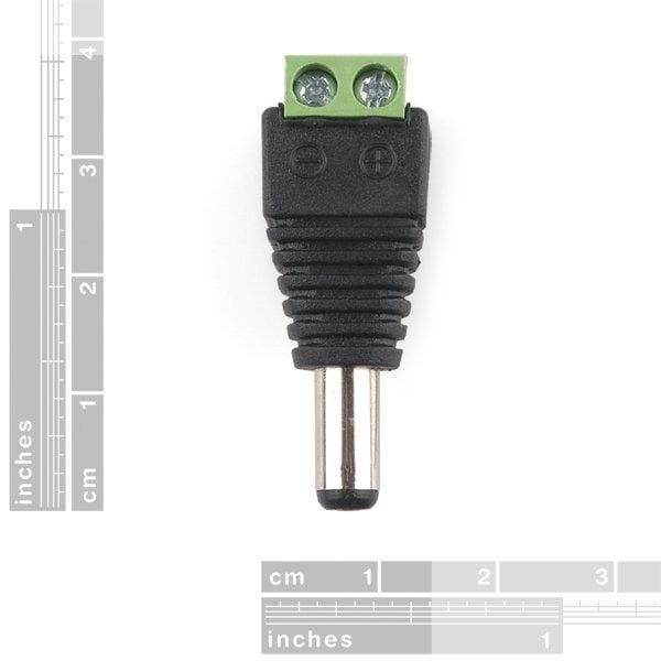 Dc Barrel Jack Adapter - Male (Prt-10287) - Cables And Adapters