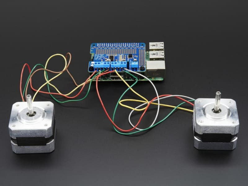 DC & Stepper Motor HAT for Raspberry Pi - Mini Kit (ID:2348) - Motion Controllers