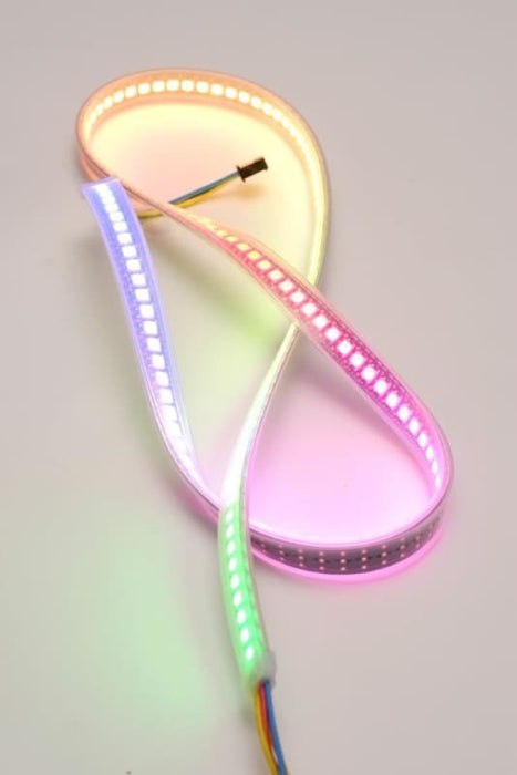 Digital RGB Addressable LED Weatherproof Strip 144 LED - 1m (NeoPixel Compatible) - LEDs