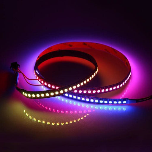 Digital RGB Addressable LED Weatherproof Strip 144 LED (SK9822) - 1m (Adafruit DotStar compatible) - LEDs