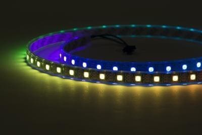 Digital Rgb Addressable Led Weatherproof Strip 60 Led -1M (Adafruit Neopixel Compatible) - Leds