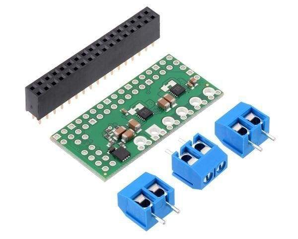 Dual Max14870 Motor Driver For Raspberry Pi (Partial Kit) - Raspberry Pi