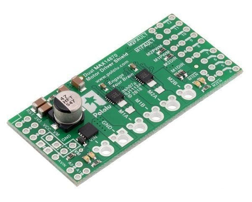 Dual Max14870 Motor Driver Shield For Arduino - Shields