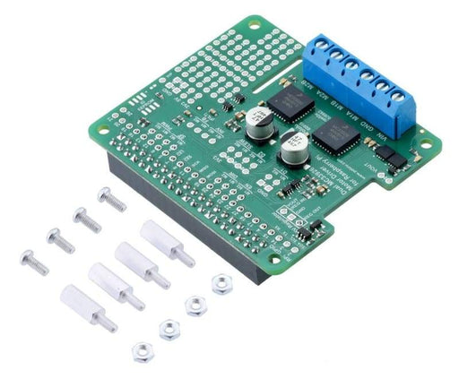 Dual Mc33926 Motor Driver For Raspberry Pi - Motion Controllers