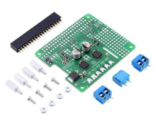 Dual Tb9051Ftg Motor Driver For Raspberry Pi (Partial Kit) - Motion Controllers