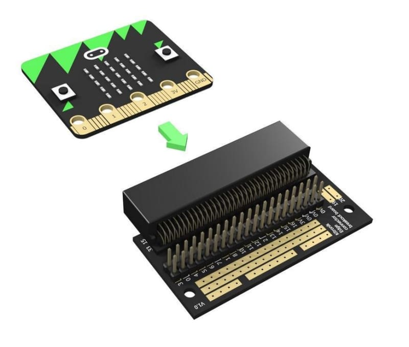Edge Connector Breakout Board For Bbc Micro:bit - Pre-Built - Other