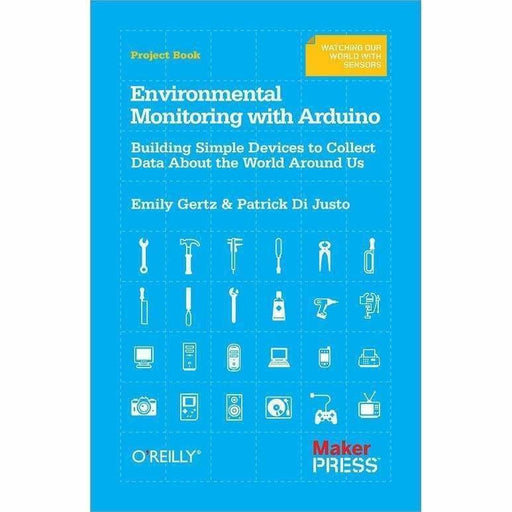 Environmental Monitoring with Arduino - Books