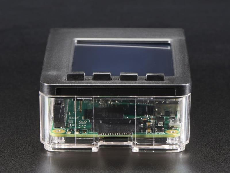 Faceplate And Buttons Pack For 2.8 Pitfts - Raspberry Pi B+ / Pi 2 (Id: 2807) - Raspberry Pi Enclosures