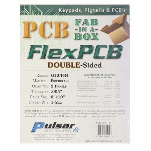 FlexPCB Double Sided - PCB Fabrication